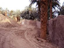 demolitions of old houses and walls beside Seti 1998 3