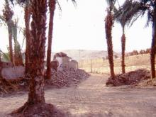 demolitions of old houses and walls beside Seti 1998 4